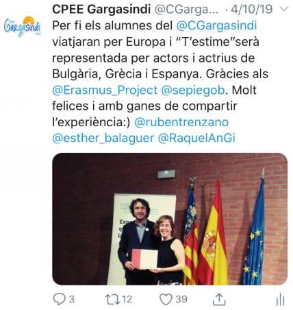Dream Theater Erasmus - Department of education recognition