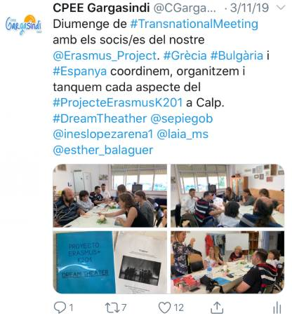 1st Transnational Meeting Posts